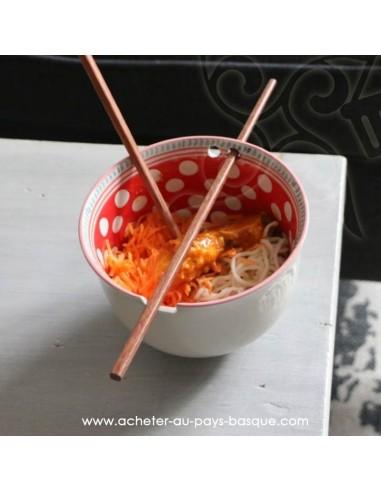 En situation Bol à nouilles chinoises, noodles ou bol à riz - Pas Sage et des rêves Biarritz - boutique décoration