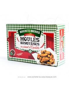 Moules basquaises conserve Bixente Ibarra - Tapas aperitif espagnol conserves basques - produits espagnols - épicerie espagnole