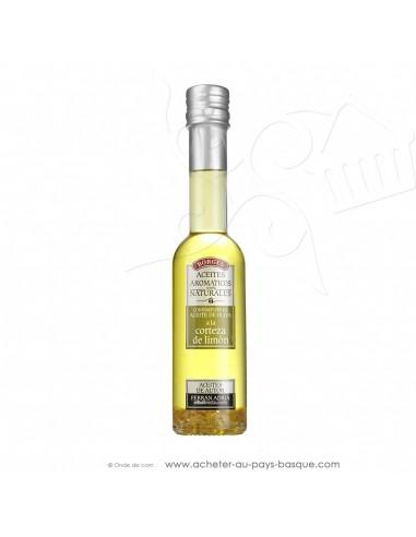 Huile d'olive avec des zestes de citron Borges 200 ml - espagnole cuisine - Ferran Adria - livraison bayonne anglet biarritz