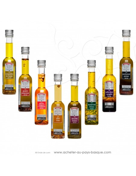 Huile d'olive assortiment Borges 200 ml - espagnole cuisine - Ferran Adria