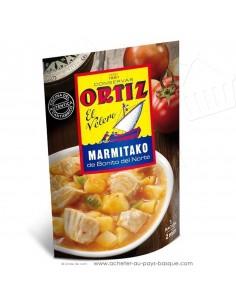 Marmitako Ortiz – ragout thon portion – plat cuisiné espagnol – doypack pays basque - épicerie conserve