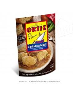 Thon blanc oignons portion ortiz – plat cuisiné espagnol – doypack pays basque - epicerie espagnole conserve