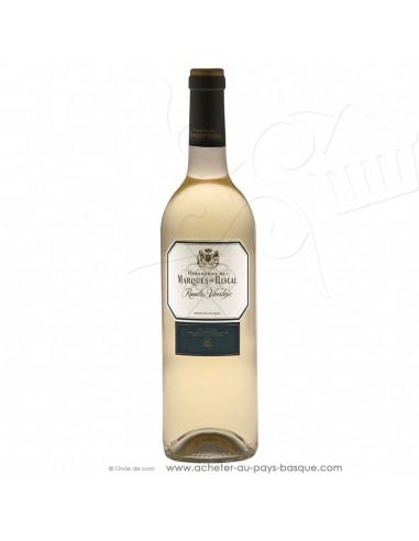 Vin Verdejo Marques de riscal blanc 2018 - vin basque espagnol - produit epicerie espagnole - livraison course à domicile