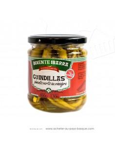 Guindillas piments du Pays Basque - conserve Bixente Ibarra - epicerie fine - produit espagnol