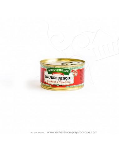 Boudin basque au piment d'Espelette 130g
