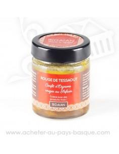 Confit d'oignons Rouge au safran de Tessaout - bidaian -  plat cuisiné oriental - produits marocain - épicerie saveurs du monde