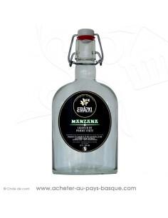 acheter Manzana 33 cl liqueur basque de pomme verte apéritif unique  Fraicheur harmonieusement équilibrée vente en ligne