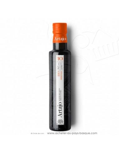 Huile d'olive bio espagnole 0.25L vierge extra Artajo 10 arroniz - conserve espagnole cuisine - épicerie fine - condiment