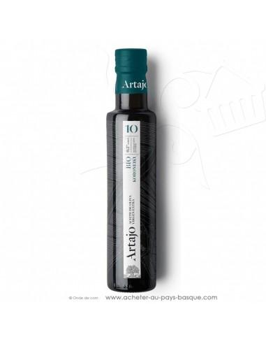 Huile d'olive bio espagnole 0.25L vierge extra Artajo 10 koroneiki - conserve espagnole cuisine - épicerie fine - condiment
