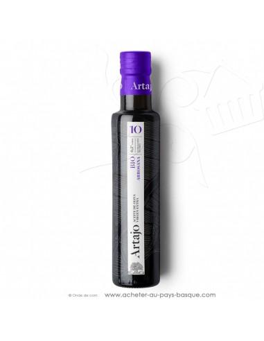 Huile d'olive bio espagnole 0.25L vierge extra Artajo 10 Arbosana - conserve espagnole cuisine - épicerie fine - condiment