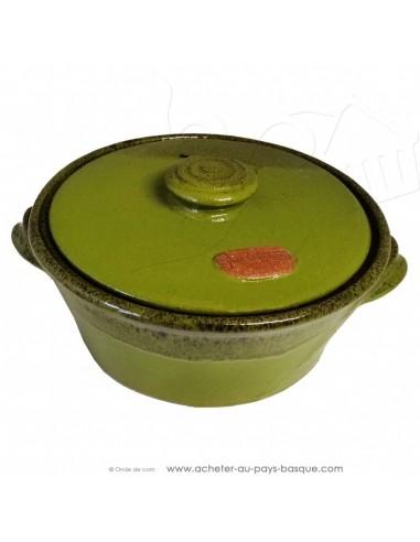 Faitout céramique vert - Terre cuite de Jean de la Terre