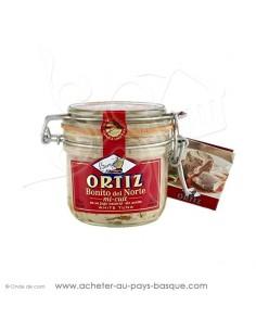 Bonite thon blanc Germon Mi cuit Ortiz  bocal 200g - espagnole cuisine conserve basque - livraison course à domicile