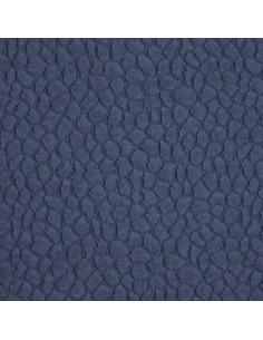 Piqué de coton relief forme uni