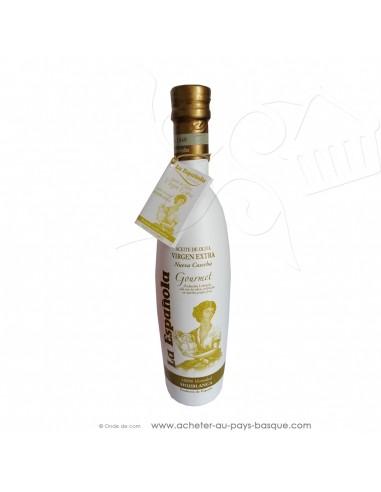 Huile d'olive extra vierge espagnole 0.5L LA ESPAÑOLA Hojiblanca - espagnole cuisine - épicerie fine - condiment espagnol