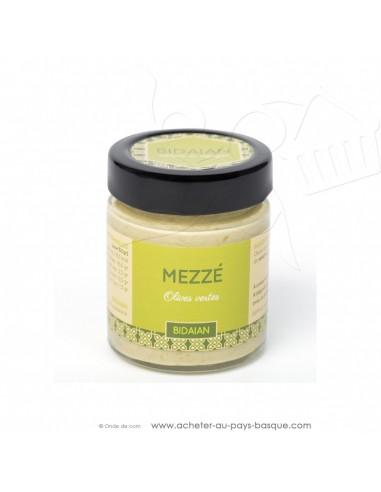 Apéritif Mézze olive verte - bidaian bayonne - plat cuisiné oriental - produits marocains - épicerie saveurs du monde