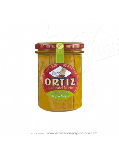Thon blanc germon Bonite à l'huile d'olive Extra vierge Ortiz- espagnole cuisine conserve – spécialité basque