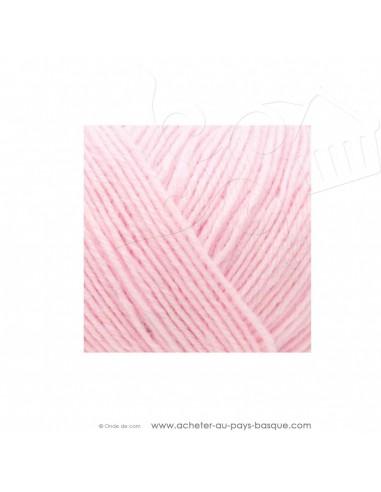 Pelote laine à tricoter RICO BABY CLASSIC 4 fils 006 rose - Rico Design - fil layette bébé - laine Biarritz