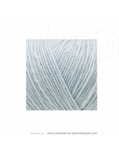 Pelote laine à tricoter RICO BABY CLASSIC 4 fils 008 bleu clair - Rico Design - fil layette bébé - laine Biarritz