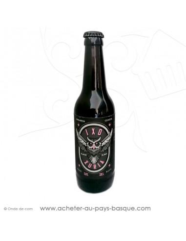 Bière Basque artisanale ici la IXO Blanche Xuria 5% 33cl - Egiazki spécialiste spiritueux liqueurs et alcools basques