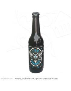 Bière Basque artisanale ici la IXO Ambrée BIO Gorrasta 5% 33cl - Egiazki spécialiste spiritueux liqueurs et alcools basques