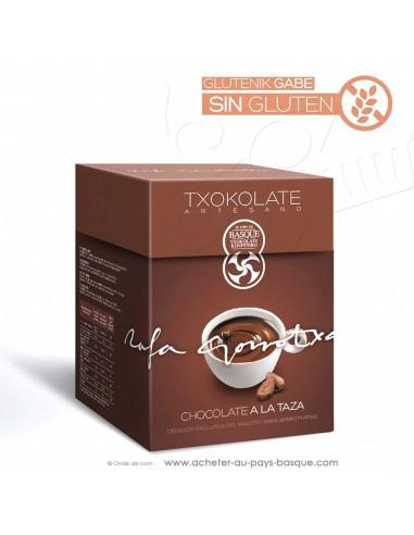 Le vrai chaud traditionnel épais espagnol en poudre boite 400g - Rafa Gorrotxategi maitre chocolatier