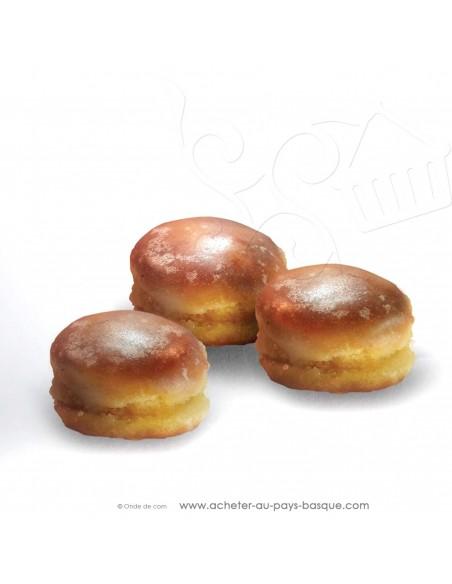 "zoom ""Gorrotxas"" Macarons basques Espagne gamme gourmet - Rafa Gorrotxategi maitre chocolatier basque"