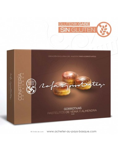 "Macarons basques ""Gorrotxas"" Espagne gamme gourmet - Rafa Gorrotxategi maitre chocolatier basque"