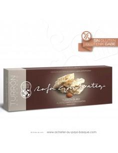 Touron DUR amande Gamme Gourmet - Rafa Gorrotxategi chocolatier basque - epicerie confiserie espagnole - produit espagnol - noel