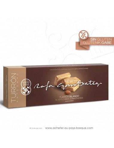 Touron MOU amande Gamme Gourmet - Rafa Gorrotxategi chocolatier basque - epicerie confiserie espagnole - produit espagnol - noel