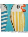 collection Patrick Plattier :  Les Poissons - Tissus Ameublement - Tissus des Docks de la Negresse - Biarritz
