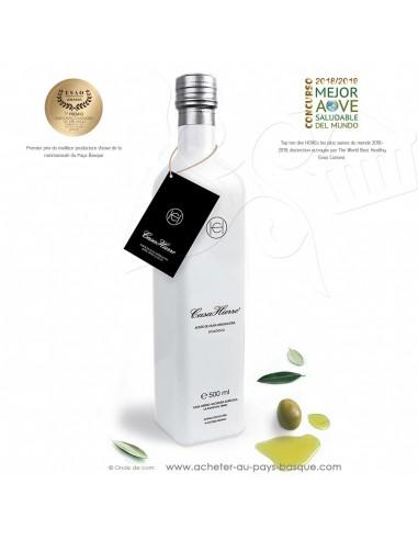 Huile olive extra vierge bio écologique 0.5L Casa Hierro artisanale - épicerie fine espagne - condiment espagnol