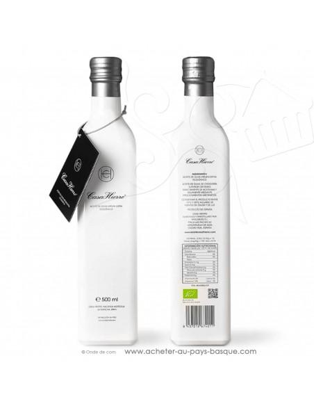 Huile olive artisanale extra vierge bio écologique 0.5L Casa Hierro - Espagne épicerie fine - condiment espagnol