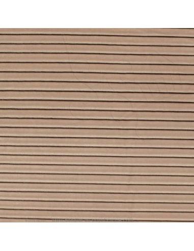 tissu velours plissé lin 140 cm Please Thevenon - Tissus Ameublement au mètre pour chaise rideaux canapé fauteuil