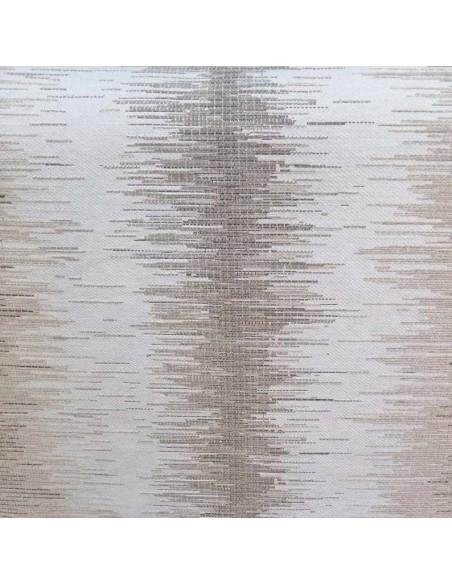 VERSO Tissu jacquard BANDIT gris noir THEVENON Automne Hiver 2018 - Tissu ameublement patchwork - Biarritz vente en ligne