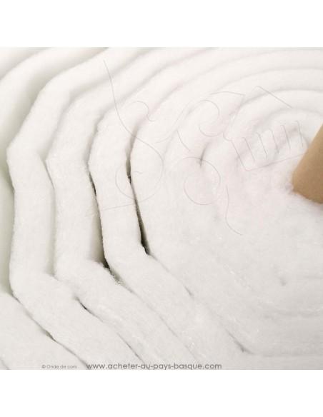 Molleton 140cm ouate rembourrage 500gr - Tissu ameublement habillement - gigoteuse patchwork réfection chaise fauteuil