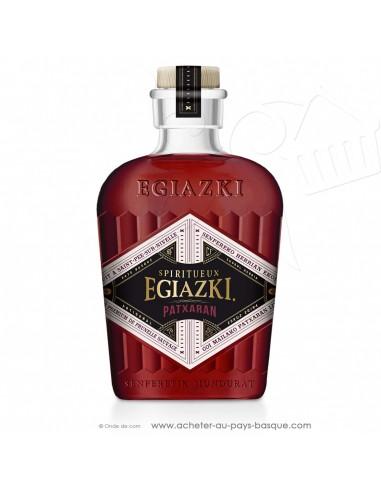 acheter Patxaran egiazki Le Véritable - liqueur Basque  prononcé Patcharan : macération de prunelles sauvages - vente en ligne