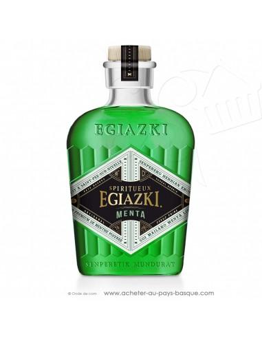 acheter Menta liqueur de menthe fraiche poivrée, type « peppermint » vente en ligne liqueur alcool basque