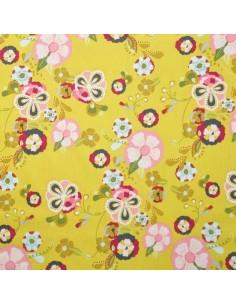 Emmy Grace Jaune - Tissus patchwork Docks Negresse Biarritz en vente