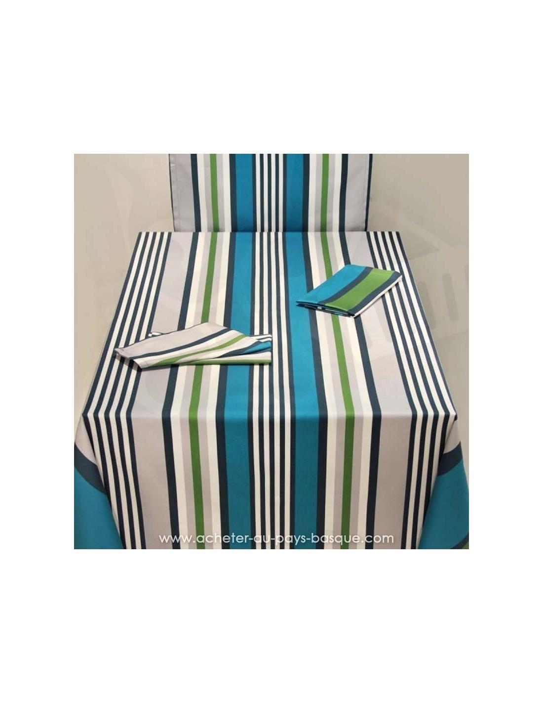 nappe arc en ciel table maison dussau saint jean de luz. Black Bedroom Furniture Sets. Home Design Ideas