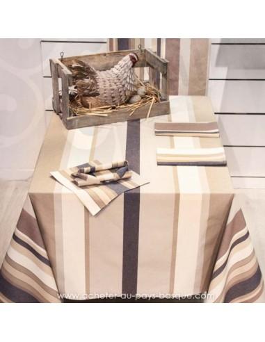 nappe capbreton table maison dussau saint jean de luz. Black Bedroom Furniture Sets. Home Design Ideas