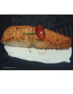 Dos de saumon vin blanc - Plat à emporter - Carlier Traiteur Biarritz