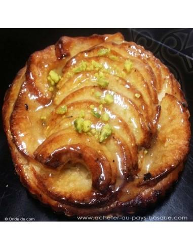 Tarte fine aux pommes - dessert à emporter - Carlier Traiteur Biarritz