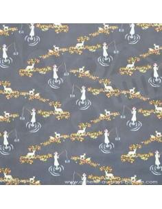 Emmy Grace La Pêche - Tissus patchwork Docks Negresse Biarritz en vente