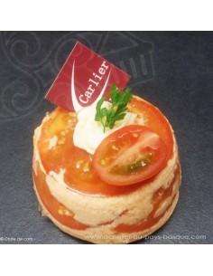 Délice de crabe - entrée -  plat à emporter - Traiteur Carlier marché Halles de Biarritz