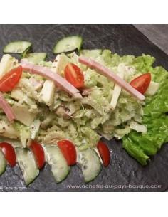 Salade parisienne - Plat entrée à emporter Carlier Traiteur Biarritz