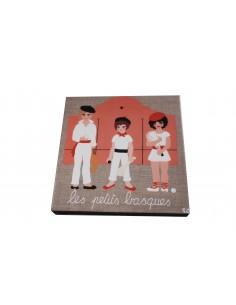 Cadre Les petits basques CD