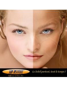 Sun institute - Effet Bronzage - diffuseur de Bien être - Kroll Biarritz - institut de Beauté