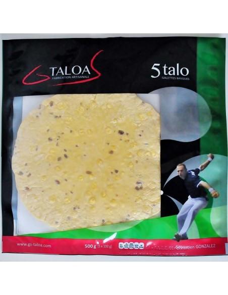 Taloa galette basque : paquet de 5 Talo
