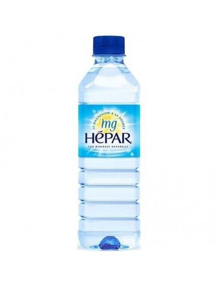Eau minérale Hépar pack ou bouteille