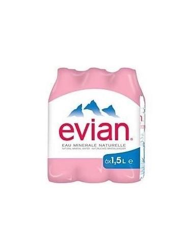 Eau minerale naturelle Evian - livraison à domicile - achat en ligne